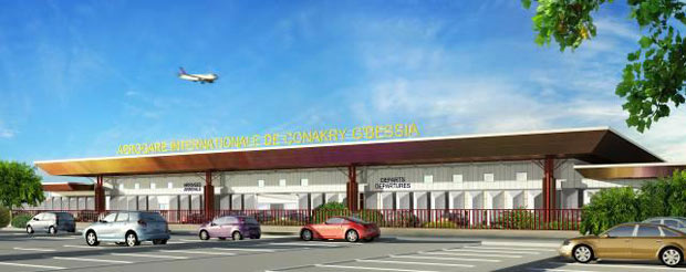 Aéroport International de Conakry Gbessia vue d'artiste